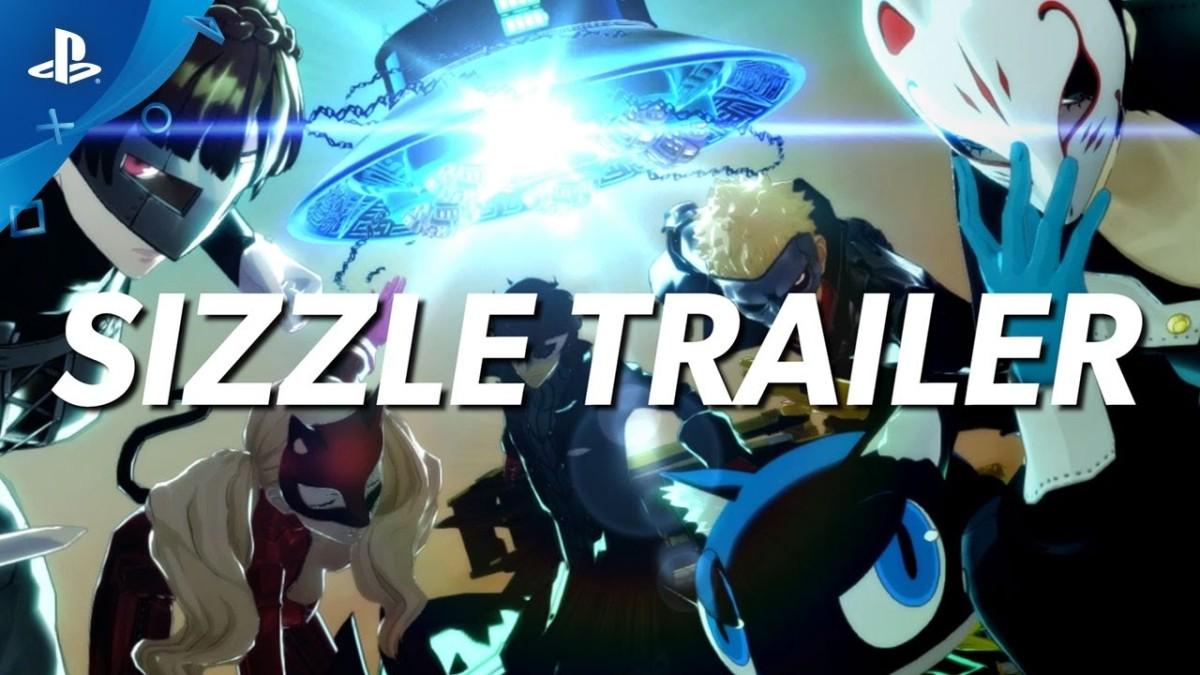 Persona 5: Sizzle Trailer | PS4