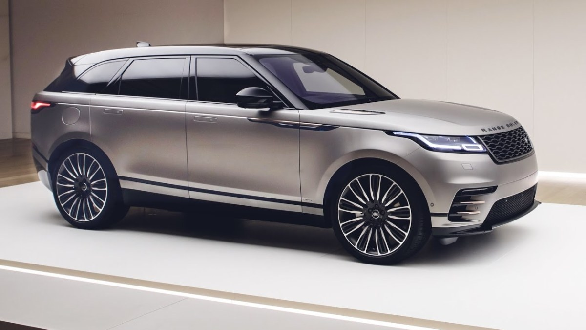 2018 Range Rover Velar - interior Exterior and Drive