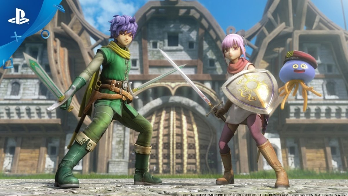 Dragon Quest Heroes II - Meet the Heroes, Part I: Lazarel, Teresa & Healix | PS4