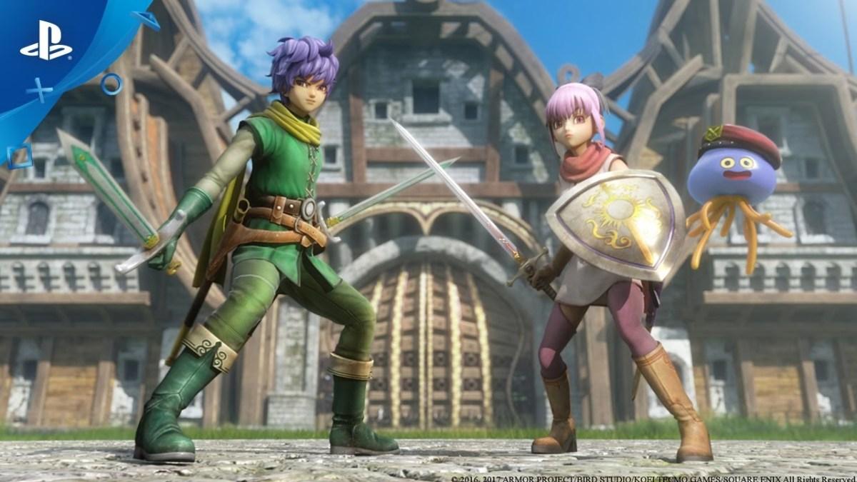 Dragon Quest Heroes II - Meet the Heroes, Part I: Lazarel, Teresa & Healix | PS4