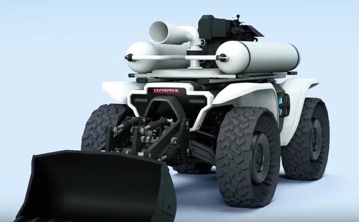 Honda Unveils 3E-D18 Robotic Workhorse