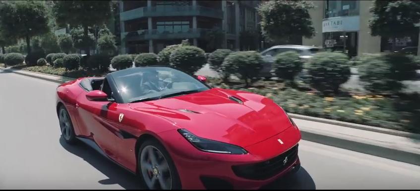 Ferrari Portofino – On roads with new design